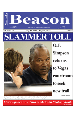 Beacon SLAMMER TOLL O.J. Simpson