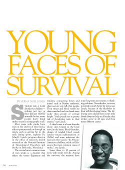 YOUNG FACES OF SURVIVAL