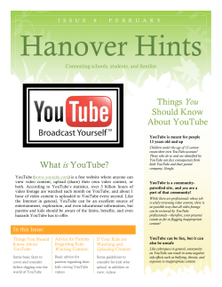 Hanover Hints You Should Know About YouTube