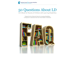 50 Questions About LD