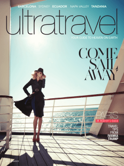 ultratravel COME SAIL AWAY