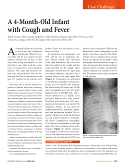 A 4-Month-Old Infant with Cough and Fever Case Challenge