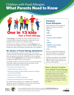What Parents Need to Know One in 13 kids