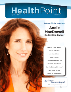 Andie MacDowell On Beating Cancer Golden Globe Nominee