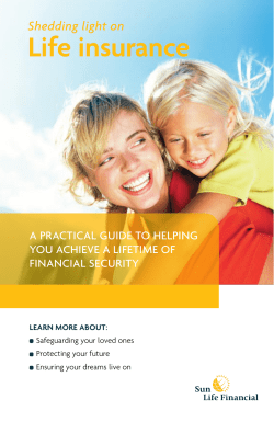 Life insurance Shedding light on a practical guide to helping