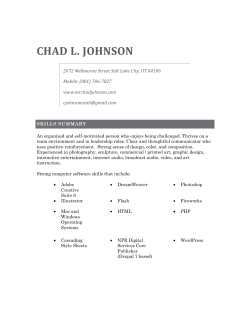 CHAD L. JOHNSON