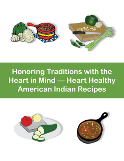 Honoring Traditions with the Heart in Mind — Heart Healthy