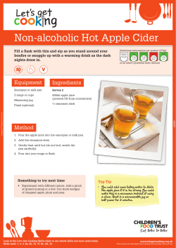Non-alcoholic Hot Apple Cider