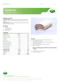 Nutrilac BK-7900 is a highly functional milk protein developed to provide