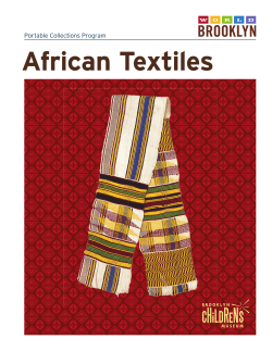 African Textiles Portable Collections Program