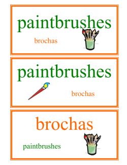 paintbrushes brochas