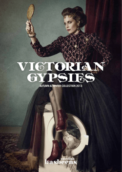 VICTORIAN GYPSIES AUTUMN & WINTER COLLECTION 2013 1