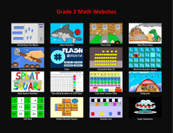 Grade 2 Math Websites