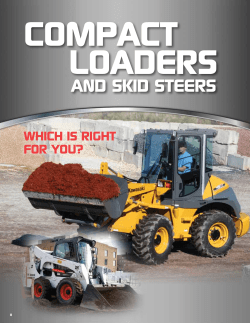 compacT loaders and skid steers which is right