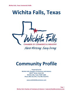 Wichita Falls, Texas  Community Profile