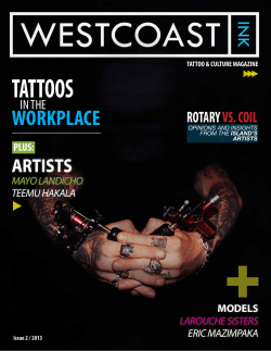 TATTOOS WORKPLACE ARTISTS ROTARY