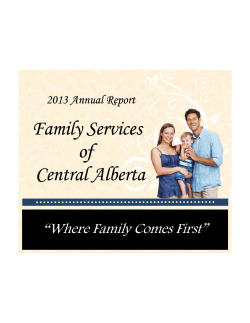Family Services  of Central Alberta