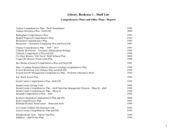 Library Bookcase 1 – Shelf List