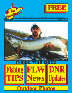DNR Fishing FLW TIPS