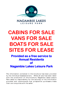 CABINS FOR SALE VANS FOR SALE BOATS FOR SALE SITES FOR LEASE