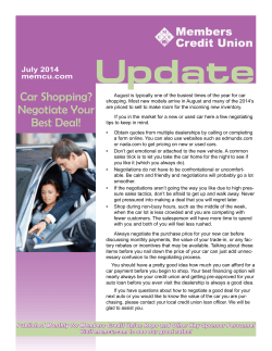 Update Car Shopping? July 2014 memcu.com