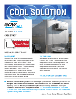 COOL SOLUTION CASE STUDY MISSOURI GREAT DANE BACKGROUND