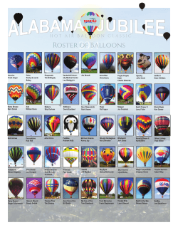 2014 Roster of Balloons