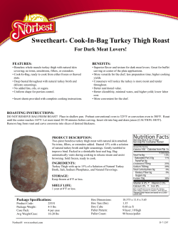 Sweetheart Cook-In-Bag Turkey Thigh Roast For Dark Meat Lovers! ®