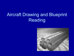Aircraft Drawing and Blueprint Reading