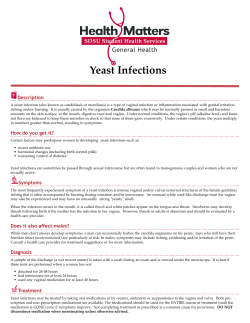 Yeast Infections Description