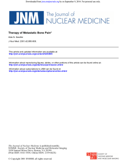 by on September 9, 2014. For personal use only. Downloaded from jnm.snmjournals.org