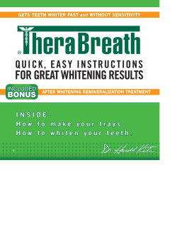 FOR GREAT WHITENING RESULTS BONUS
