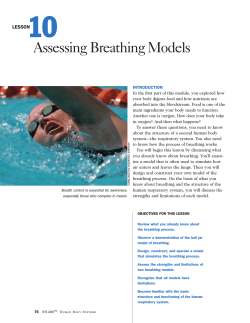 10 Assessing Breathing Models LESSON