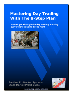 Mastering Day Trading With The 8-Step Plan Another ProMarket Systems
