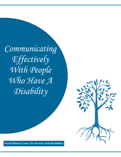 Communicating Effectively With People