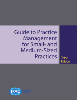 Guide to Practice Management for Small- and Medium-Sized