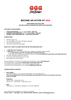 BECOME AN ACTOR AT GGG