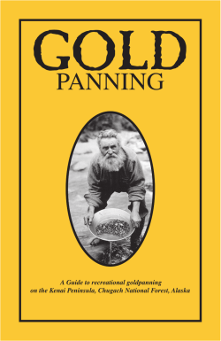 Gold Panning A Guide to recreational goldpanning
