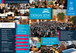 EXCELLENCE IN DESIGN 13