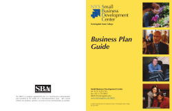 Business Plan Guide NYS S