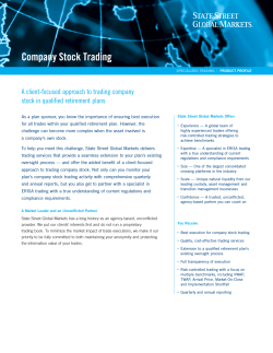 Company Stock Trading A client-focused approach to trading company
