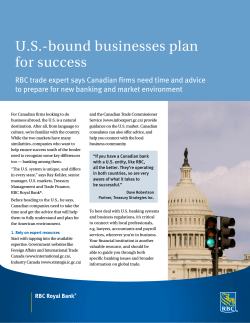 U.S.-bound businesses plan for success