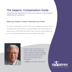 The Isagenix Compensation Guide