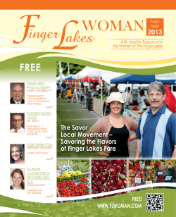 FREE The Savor Local Movement – 2013