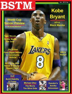 BSTM Kobe Bryant World Cup