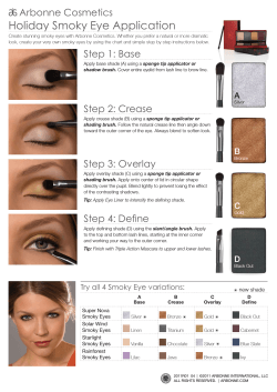 Holiday Smoky Eye Application Arbonne Cosmetics