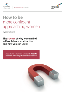 How to be more confident approaching women The