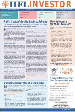 F Rajiv Gandhi Equity Savings Scheme