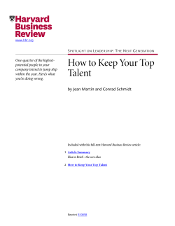 How to Keep Your Top Talent