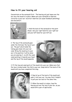 How to fit your hearing aid